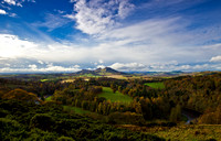 The Eilden hills in Autumn