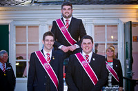 Cornet Elect_Keiran Scott flanked by 2014 cornet Kev Smith and RH man Dan Williamson